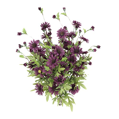 Admired By Nature 6 Stems Artificial Full Blooming Daisy ...