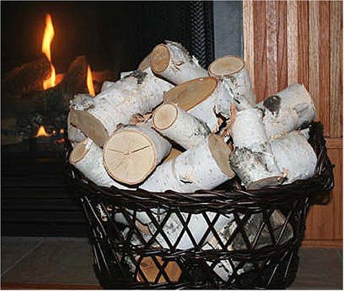 Birch Log Pieces (15 lbs)