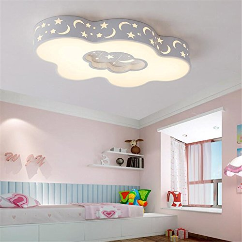 LED Chandelier Clouds Style Modern Contemporary Ceiling Light Dimmable Acrylic Pendant Light For Corridor Hallway Living Room Bedroom Dining Room Entrance Balcony Hotel Room Exhibition Hall 110 ()