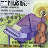 Rozsa: Concerto for Piano and Orchestra, Op. 31 / Concerto for Cello and Orchestra, Op. 32 (Complete Orchestral Music, Vol. 5