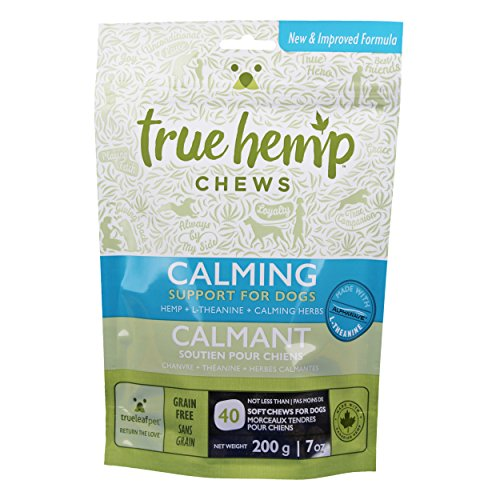 TrueLeafPet Supplement Chews | Calming Herbs Support for Dog | Net Weight 200 g - 7 Oz