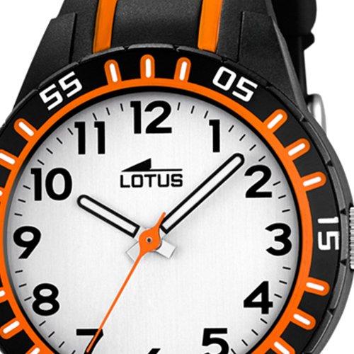 Lotus Reloj Analógico para Niños de Cuarzo con Correa en Caucho 18172/3: LOTUS: Amazon.es: Relojes