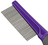 Hertzko Pet Comb Dog and Cat Stainless Steel