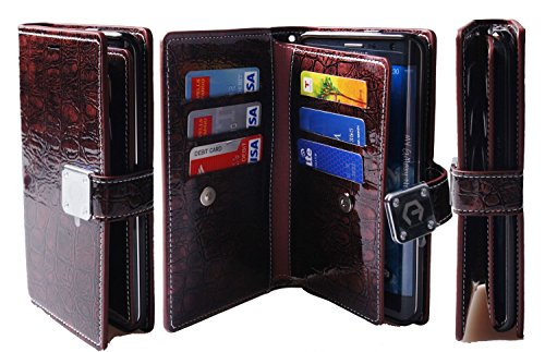 Wallet Wristlet Leather Bumper Protection