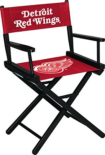Imperial Officially Licensed NHL Merchandise: Directors Chair (Short, Table Height), Detroit Red Wings