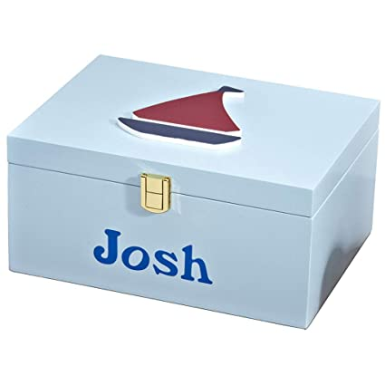NJ Caja de almacenamiento- Caja de almacenamiento de almacenamiento de madera mediterránea, decoración de