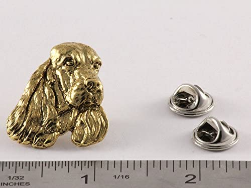 Cocker Spaniel Show Dog Fine PEWTER PIN Jewelry Art USA Made