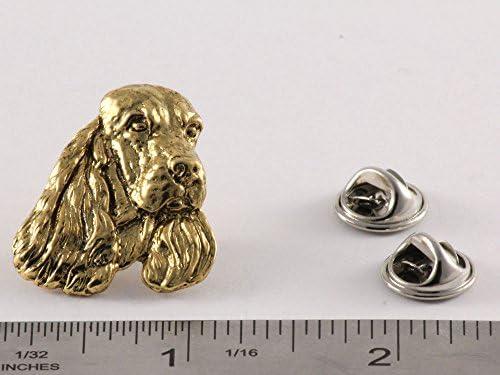Cocker Spaniel Show Dog Fine PEWTER PIN Jewelry Art USA Made