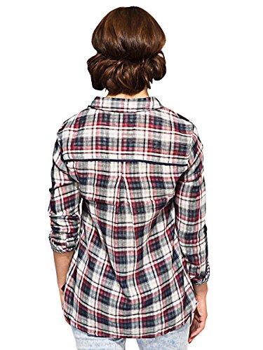 Bellfield - Camiseta de manga larga - para mujer