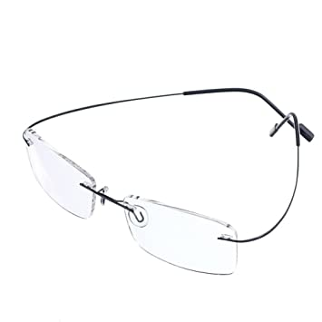578244ae742 Rongchy Super Light 100% Titanium Working Reading Glasses +1.00 Men Women  Fashion Rimless Reading