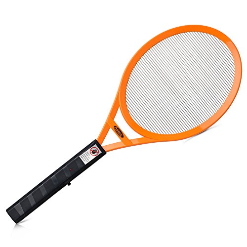Astor Extra Large Electric Fly Swatter Bug Zapper for Flies, Mosquitos, Wasps & Other Insects - Great for Indoor and Outdoor Use
