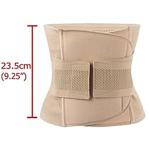 3-5 Days Delivery Women & Men Waist Trimmer Trainer Belt Belly Band Belts Hot Body Shaper After Birth Slim Belt Corset Postpartum Tummy Trimmer Body Fat Burner