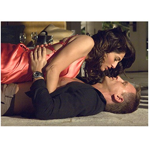 Eva Green with Daniel Craig Laying on Floor 8 x 10 Inch Photo