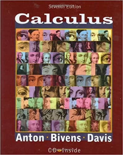 Calculus 7th Edition Book And CD Howard Anton Irl C