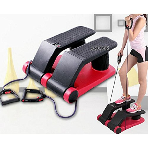 New Air Stepper Climber Fitness Machine Resistant Cord (DVD included) (Item#251388)