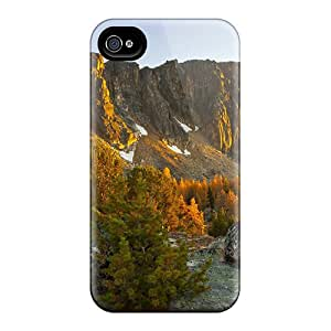 Fashion Protective Wonderful Cliffs In Autumn At Sunrise Case Cover For Iphone 4/4s
