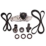Set of 10 Engine Timing Belt Kit with Water Pump Honda Acura 3.0L 3.2L 3.5L 3.7L V6 Factory Parts