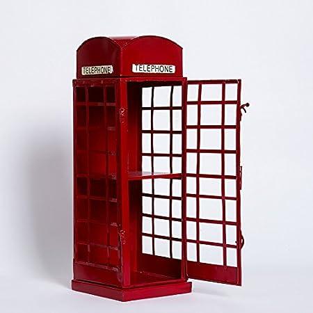 ZLJ/Telephone Booth Vintage British model home decoration