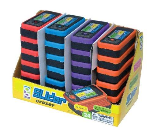 Geddes Slider Phone Eraser Assortment -