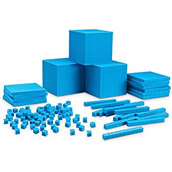 Amazon.com: Learning Resources Interlocking Base Ten Starter Set ...