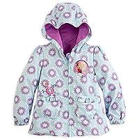 Disney Store Frozen Princess Elsa/Anna Windbreaker Coat/Jacket Size XS 4 (4T)