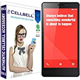 bagtag Cellbell Tempered Glass Screen Protector for Redmi Note / RedmiNote Prime (2.5D Curved Edges)(Clear) Complimentary Prep cloth-Bronze Edition