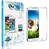 MXX Shatterproof HD Clarity Tempered Glass Screen Protector for Samsung Galaxy S4, Pack of 1 (Retail Packaging)