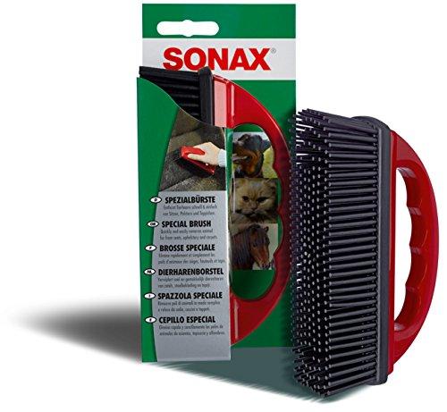 SONAX 2X 04914000 SpezialB/ürste zur Entfernung von Tierhaaren 1 St/ück