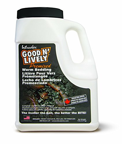 Good N' Lively Premixed Worm Bedding, 5-Pound Container