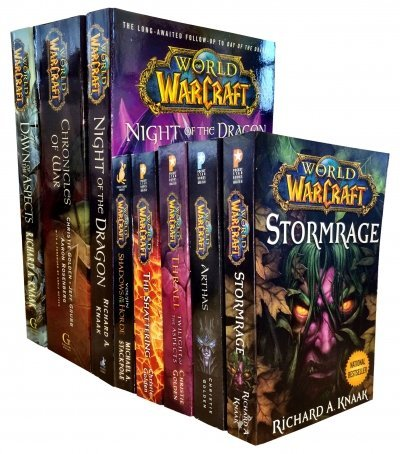 Warcraft - World Of Warcraft - 8 Books Series 1 and 2 Collection Set Pack