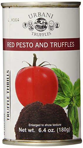 Urbani Truffles Truffle Thrills, Red Pesto and Truffles, 6.4 Ounce Can