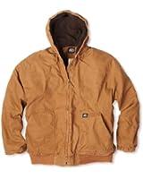 Key Apparel Men's Premium Insulated Fleece Lined Hooded Duck Jacket