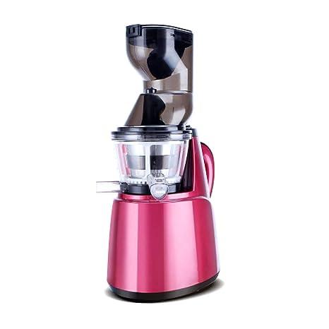 Exprimidor de Gran diámetro JuicerHousehold Juice Machine Automático Multifuncional de Frutas Fritas y Vegetales Máquina de