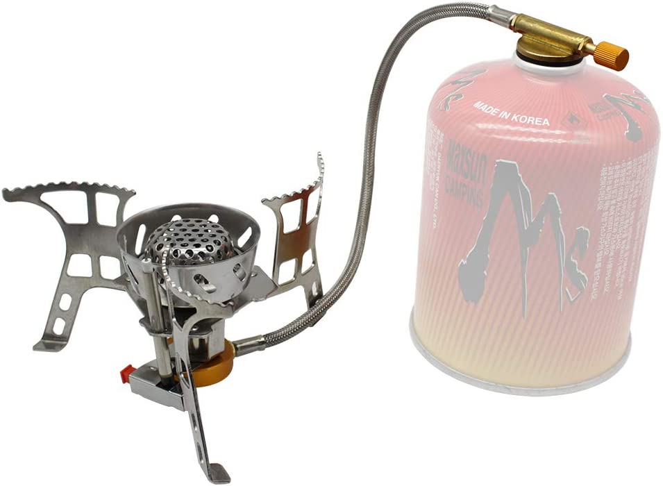 Ultralight Windproof Foldable Camping Backpack Stove Burner