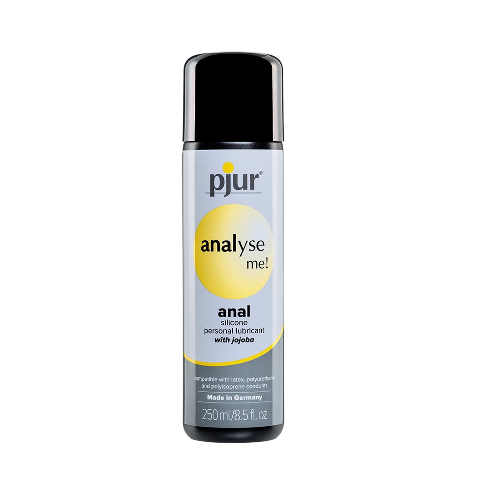 Pjur Analyse ME Silicone Anal Lubricant - Relaxing Silicone-Based Formula Enriched with Jojoba Extract for Maximum Comfort and Lubrication (8.5 Fluid Ounce / 250 Milliliter) by Pjur (Image #1)