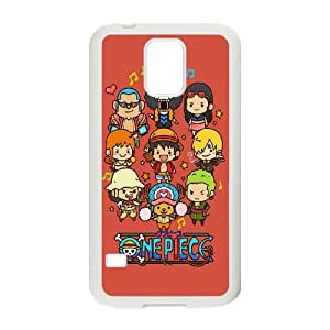 Samsung Galaxy S5 Cell Phone Case White Cute Lovely One Piece Cartoon Poster S1X7YG