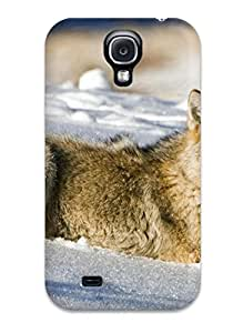 Galaxy S4 Animal Wolf Print High Quality Tpu Gel Frame Case Cover