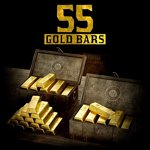 RED DEAD REDEMPTION 2 - RDR2 55 GOLD BARS - [PS4 Digital Code]