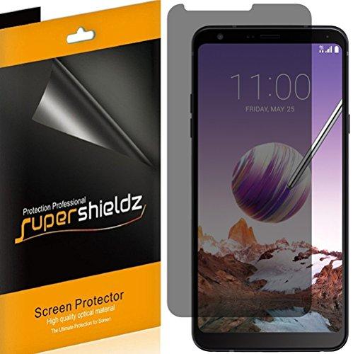 (2 Pack) Supershieldz Privacy Anti Spy Screen Protector Shield for LG Stylo 4
