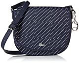 Lacoste Round Crossover Bag, Nf2398dt, Check Peacoat