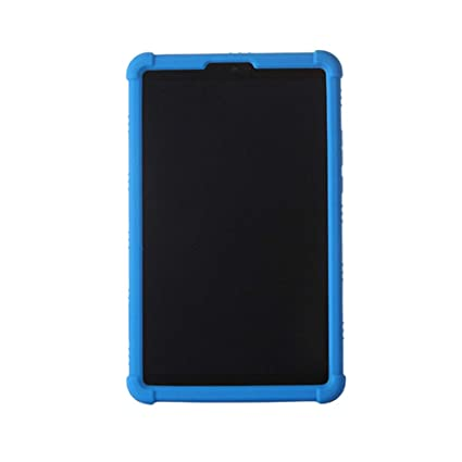 Meijunter Mi Pad 4 Case - Light Weight Anti Slip Stand Silicone Gel Rubber Case Cover for Xiaomi Mi Pad 4 8 inch 2018,Dark Blue