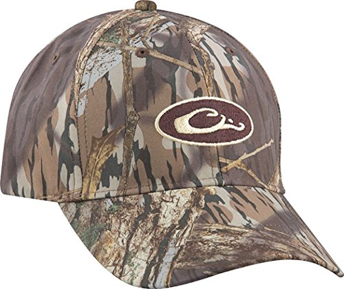 [Drake Mossy Oak Shadow Grass Blades Camo Waterproof Cap (BLDS 1SZE)] (Mossy Oak Shadow Grass Hat)