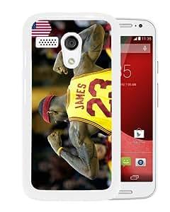 Unique And Durable Custom Designed Case For Motorola Moto G With lebron james 2 White Phone Case