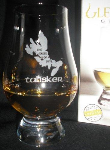 TALISKER''THE TASTE OF SKYE'' GLENCAIRN SINGLE MALT SCOTCH WHISKY TASTING GLASS by Glencairn