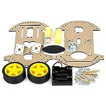 2WD Robot Raider Car Kits for Arduino Compatible Mobile Robot Development Platform