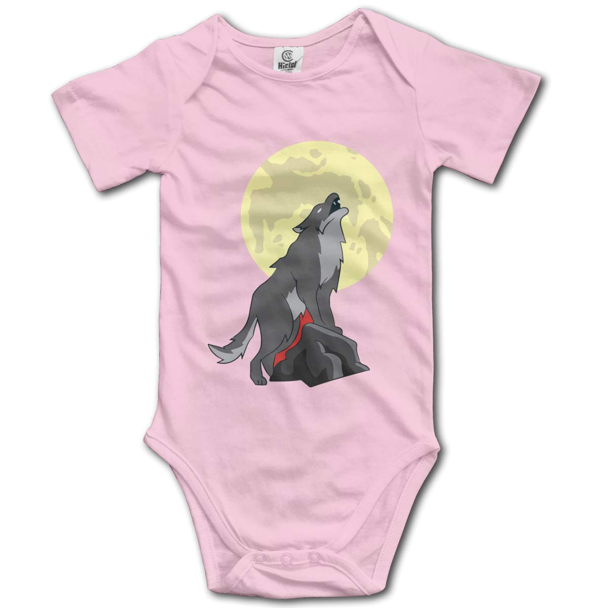 Papa Wolf Newborn Infant Baby 100/% Organic Cotton Jumpsuit Outfit 0-2T