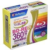 Verbatim Mitsubishi Blu-ray Re-Writable Disk 10 Pack - 50GB 2X BD-RE DL - Printable