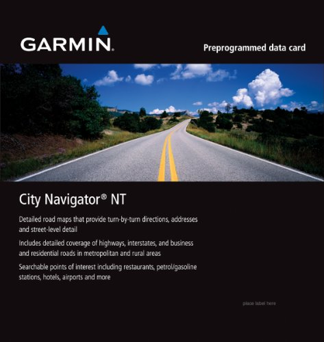 Garmin City Navigator for Detailed Maps of Italy and Greece (microSD/SD Card)