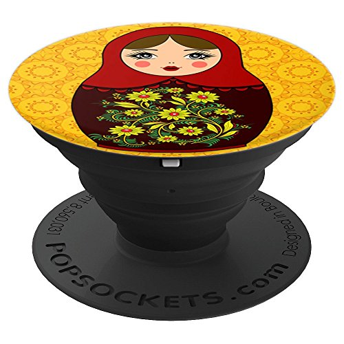Matryoshka Russian Nesting Doll Phone Grip Russia Gift - PopSockets Grip and Stand for Phones and Tablets