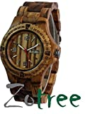 The ANTEX Series Diver watch, men and women, Sports watch, Wooden watch with wooded bracelet, ECO Friendly design, by ZoTree Designs